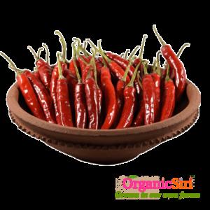 Organic Fresh Red Chilli